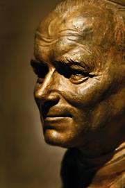 EE 172 Bust of Pope John Paul II