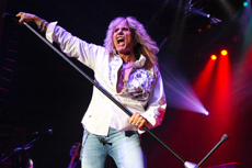 DAVID COVERDALE - PHOTO BY STEVE JOHNSTONE