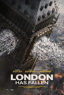INVASÃO À LONDRES POSTER