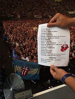SETLIST BUENOS AIRES 07/02/2016 - FOTO: DIVULGAÇÃO