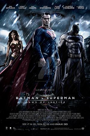 """POSTER DE """"BATMAN VS SUPERMAN - A ORIGEM DA JUSTIÇA"""""""