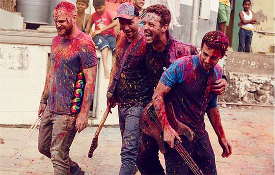 COLDPLAY - FOTO BY JULIE KENNEDY