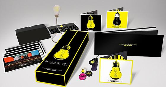 """BOX SUPER DE LUXE DE """"INNOCENCE + EXPERIENCE LIVE IN PARIS"""" - FOTO: DIVULGAÇÃO"""