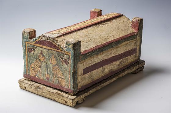 SARCÓFAGO PARA GATO - EXPOSIÇÃO EGITO ANTIGO - FOTO: © Museo Egizio