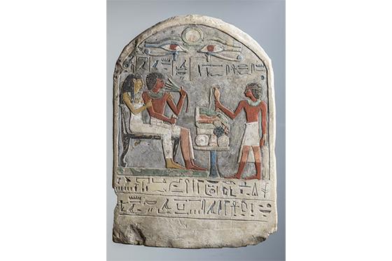 ESTELA FUNERÁRIA DE MEKIMONTU - EXPOSIÇÃO EGITO ANTIGO - FOTO: © Museo Egizio