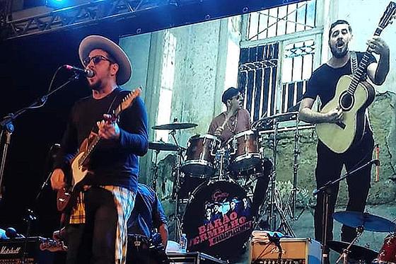 BARÃO VERMELHO - GRANDES ENCONTROS SHOPPING ANÁLIA FRANCO - FOTO BY REVISTA ELETRICIDADE (VALÉRIA MARAVIGLIA)