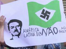 A NOSSA BANDEIRA JAMAIS SERÁ VERMELHA - FOTO: REPRODUÇÃO