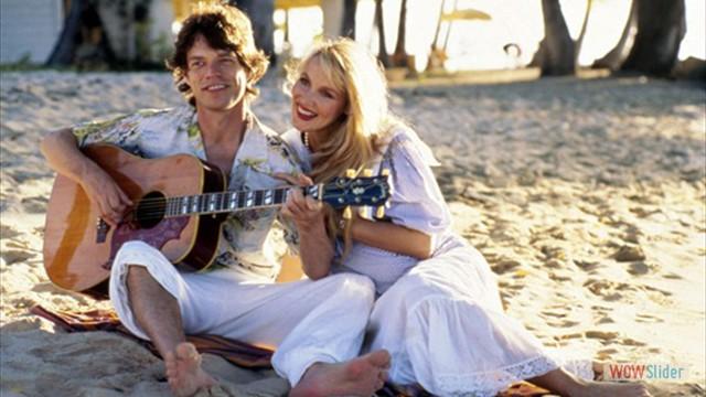 O Relacionamento de Jagger com a modelo Jerry Hall foi de 1977 a 1999. Os dois têm 4 filhos