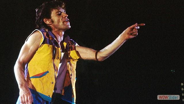 Em Torino, em 1982, os shows dos Stones começavam a ficar cada vez maiores