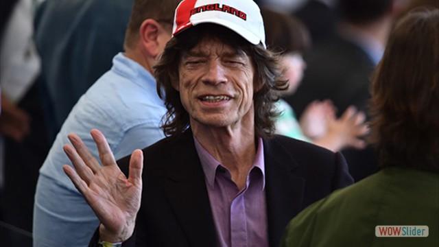 Em 2014, na Copa do Mundo do Brasil. Mick Jagger acompanhou os jogos da Inglaterra