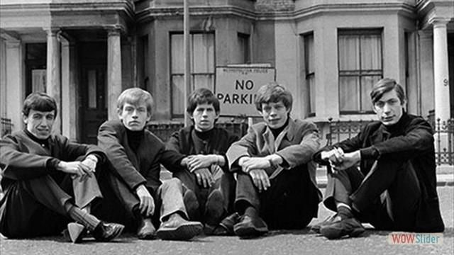 Primeira foto dos Stones, em 1962