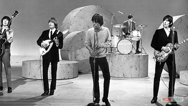 Stones no Ed Sullivan Show em 1964