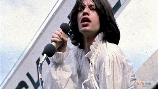 No show em homenagem a Brian Jones, em 1969
