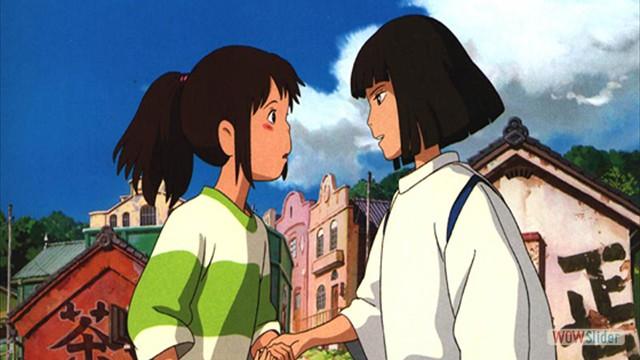 4. A Viagem de Chihiro (Hayao Miyazaki, 2001)