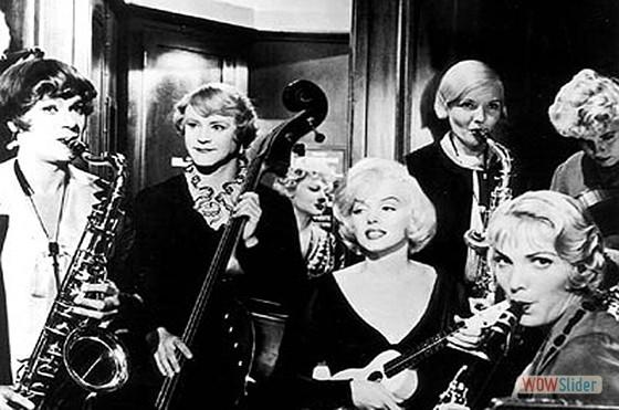 3.Quanto Mais Quente Melhor (1959)