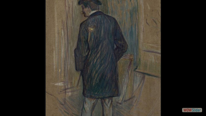 Mounsieur Louis Pascal visto de costas (1893)