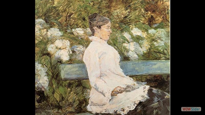 A Condessa Adele de Toulouse Lautrec  (1880)