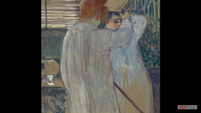 Mulher se Penteando (Duas Mulheres em Camisola) (1891)