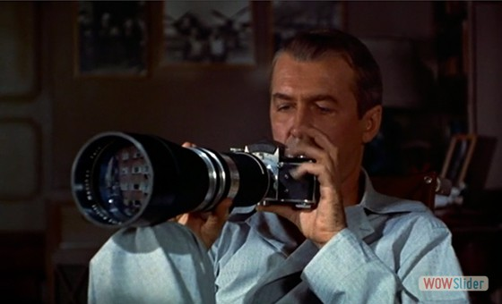 3.Janela Indiscreta (The Rear Window, 1954)